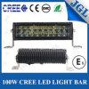 Ce tous terrains RoHS de la barre 100W E-MARK d'éclairage LED de CREE