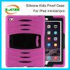 Caixa combinado Shockproof da tabuleta de Silicone+Plastic Kickstand para o iPad 2/3/4/Air/Air 2/PRO 9.7