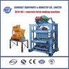 Petite machine de fabrication de brique semi-automatique (QTJ4-40II)