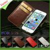 Крышка случая мобильного телефона Flip бумажника PU горячего сбывания кожаный