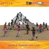 Net Climbing und Edelstahl Slide des Kindes für Playground (NC-09601)