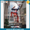 Kreatives Design u. Zoll-bildete Film Character Replicas Inflatable Spider Man Cartoon Model für Sale