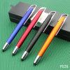 Crayon lecteur de modèle de logo de Stylus Plastic Ball Pen Company de qualité