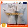 Ddsafety 2017 естественных перчаток полиэфира хлопка с длинним тумаком