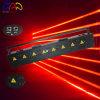 Het rode Licht van de Laser van de Straal