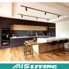 Las cabinas de cocina modernas de la chapa de la coctelera se dirigen los muebles (AIS-K085)