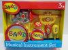Juguetes musicales preescolares fijados de los instrumentos musicales de los cabritos (H7501012)