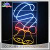 Luz colorida de suspensão das estrelas de Pólo do motivo do diodo emissor de luz da decoração da rua