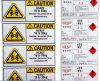 最も安い警告の包装のステッカー(ST-022)