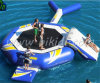 Inflatable Water Park Water Trampoline with Slide Aqua Park D3004