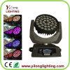 36X10W RGBW bewegliche Hauptbeleuchtung des summen-LED