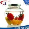 Alta calidad Especial tarro de cristal con jugo de Cap (CHJ8284)