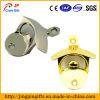 De douane Geplateerde Flesopener van het Aluminium van het Metaal Met Ring