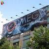 Большая напольная таможня рекламируя знамя гибкого трубопровода Frontlit афиши печатание цифров