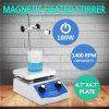 Двусторонние управления шевелилки Hotplate лаборатории магнитные Heated