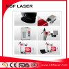 Mini machine portative d'inscription de laser de fibre en métal 20W
