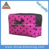 紫色の方法洗面所の洗面用品の袋の装飾的な構成の美袋