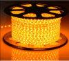220V SMD3528 60LEDs/M einzelnes Streifen-Licht der Farben-LED