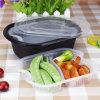 envase plástico disponible de empaquetado al por mayor de los alimentos de preparación rápida de los PP de la salida con la tapa