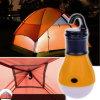 Lampe légère campante de tente de lanterne de DEL avec l'éclairage s'arrêtant de tente de crochet