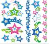 Tatuaje temporal del arte de la etiqueta engomada del tatuaje de la transferencia del agua del tatuaje de la estrella