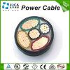 le PVC moyen de la tension 21/35kv a isolé/câble d'alimentation de cuivre/en aluminium engainé de conducteur