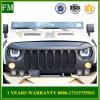 Gril noir mat d'avant de bête pour le Wrangler Jk de jeep