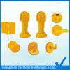 Accessori di plastica all'ingrosso del cubicolo della stanza da bagno per il divisorio della toletta