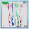 Toothbrush da cerda de Du Pont dos miúdos com punho antiderrapante