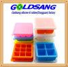Bandeja material del congelador de los alimentos para niños del silicón del silicón