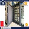 Guichet extérieur de tissu pour rideaux d'interruption thermique de guichet en aluminium