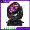36X18W Stage Zoom Beam LED Cabeza móvil Wash