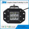 18W 4 LED Panel de luz LED de luz de conducción de coches