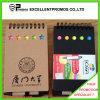 Cuaderno reciclado promocional de encargo barato con la pluma (EP-B55512)