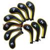 鉄(GIC087)のためのゴルフジッパーの長い袖Headcovers