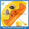 Причудливый Duck Shape Cartoon Sun и Rain Kids Children Umbrella