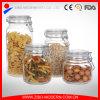 Großverkauf kundenspezifisches Speicherglasglas mit Glasclip-Kappe