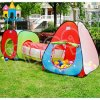 Bewegliches faltendes Tunnel-Baby-Mädchen-Spiel-Spiel-Zelt