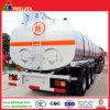 반 35m3 3axles 액체 난방 트럭 가연 광물 탱크 트레일러