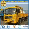 Dongfeng 4*2 180 HP 망원경 기중기는 화물 트럭 가격에 거치했다