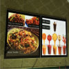 Box chiaro Fast Food con Restaurant Menu Light Box