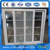 Aluminiumrahmen-schiebendes Glasfenster mit Moskito-Netz
