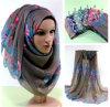 Lenço islâmico longo muçulmano de Hijab da forma a mais atrasada