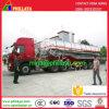 重油のタンカーのステンレス鋼タンクトラックのセミトレーラー