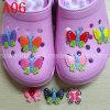 Altos clips del zapato del PVC de Qualitysoft