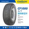 Los neumáticos de coche con las cartas blancas hacen los neumáticos un funcionamiento más hermoso y mejor