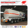 43000L Alliage d'aluminium Light Curb Weight Diesel Tanker Semi-remorque