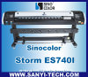 最も新しいInkjet Printer Sinocolor Es740I、Epson Dx7 Headsとの1.8m