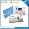 Kundenspezifisches Drucken 4.3 Inch LCD-Video-Visitenkarte