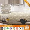 Fabrik, Streifen-Marmorstein und Glas-Mosaik für Küche (M855020)